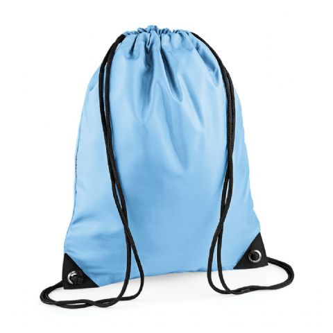 CHOOSE DESIGN - SKYBLUE GYMSAC